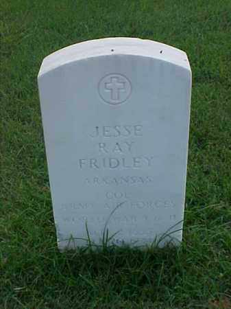 FRIDLEY (VETERAN 2 WARS), JESSE RAY - Pulaski County, Arkansas | JESSE RAY FRIDLEY (VETERAN 2 WARS) - Arkansas Gravestone Photos