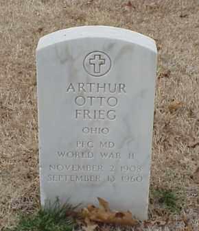 FRIEG  (VETERAN WWII), ARTHUR OTTO - Pulaski County, Arkansas   ARTHUR OTTO FRIEG  (VETERAN WWII) - Arkansas Gravestone Photos