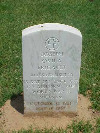 FRIGAULT (VETERAN 2 WARS), JOSEPH OVILA - Pulaski County, Arkansas   JOSEPH OVILA FRIGAULT (VETERAN 2 WARS) - Arkansas Gravestone Photos