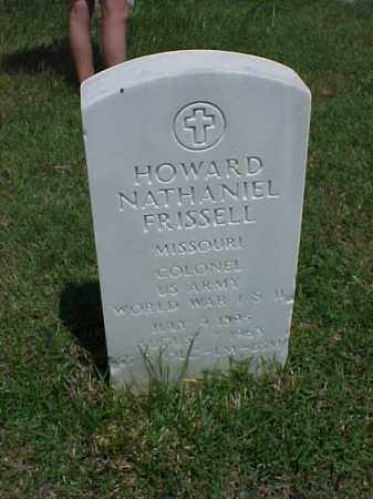FRISSELL (VETERAN 2 WARS), HOWARD NATHANIEL - Pulaski County, Arkansas | HOWARD NATHANIEL FRISSELL (VETERAN 2 WARS) - Arkansas Gravestone Photos