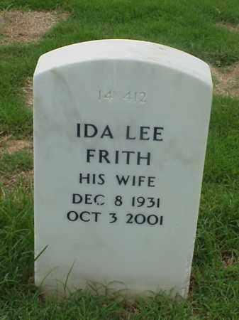 FRITH, IDA LEE - Pulaski County, Arkansas | IDA LEE FRITH - Arkansas Gravestone Photos