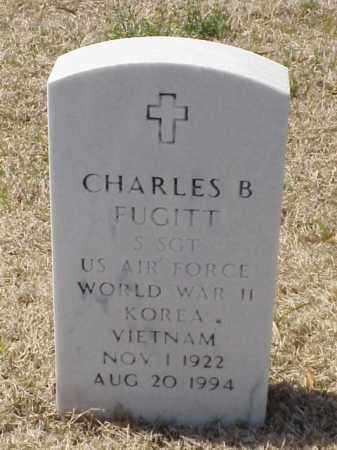 FUGITT (VETERAN 3 WARS), CHARLES B - Pulaski County, Arkansas | CHARLES B FUGITT (VETERAN 3 WARS) - Arkansas Gravestone Photos