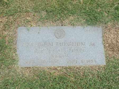 FULCHUM, JR (VETERAN KOR), RALPH M - Pulaski County, Arkansas   RALPH M FULCHUM, JR (VETERAN KOR) - Arkansas Gravestone Photos