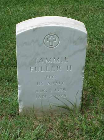 FULLER, II (VETERAN WWII), TAMMIE - Pulaski County, Arkansas | TAMMIE FULLER, II (VETERAN WWII) - Arkansas Gravestone Photos
