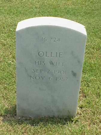 FULLER, OLLIE - Pulaski County, Arkansas   OLLIE FULLER - Arkansas Gravestone Photos