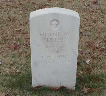 FULLER (VETERAN SAW), FRANK A - Pulaski County, Arkansas | FRANK A FULLER (VETERAN SAW) - Arkansas Gravestone Photos
