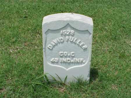 FULLER (VETERAN UNION), DAVID - Pulaski County, Arkansas | DAVID FULLER (VETERAN UNION) - Arkansas Gravestone Photos