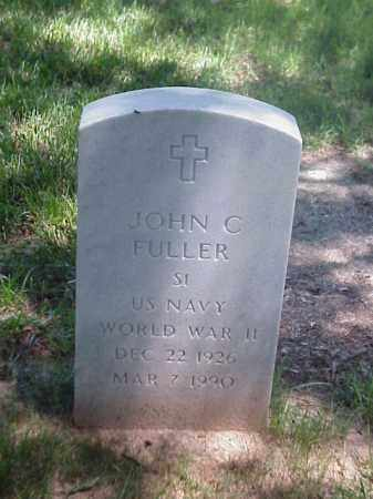 FULLER (VETERAN WWII), JOHN C - Pulaski County, Arkansas   JOHN C FULLER (VETERAN WWII) - Arkansas Gravestone Photos