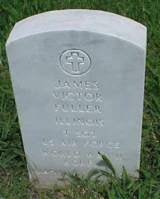FULLER (VETERAN 2 WARS), JAMES VICTOR - Pulaski County, Arkansas | JAMES VICTOR FULLER (VETERAN 2 WARS) - Arkansas Gravestone Photos