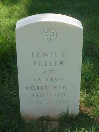 FULLER (VETERAN WWII), LEWIS C - Pulaski County, Arkansas | LEWIS C FULLER (VETERAN WWII) - Arkansas Gravestone Photos