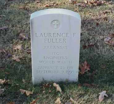 FULLER (VETERAN WWII), LAURENCE F - Pulaski County, Arkansas   LAURENCE F FULLER (VETERAN WWII) - Arkansas Gravestone Photos