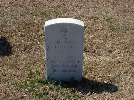 FULLER (VETERAN WWII), MILTON - Pulaski County, Arkansas | MILTON FULLER (VETERAN WWII) - Arkansas Gravestone Photos