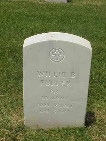 FULLER (VETERAN WWII), WILLIE B - Pulaski County, Arkansas | WILLIE B FULLER (VETERAN WWII) - Arkansas Gravestone Photos