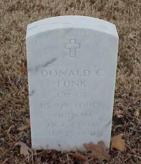 FUNK  (VETERAN VIET), DONALD C - Pulaski County, Arkansas | DONALD C FUNK  (VETERAN VIET) - Arkansas Gravestone Photos