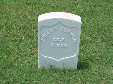 FURMAN (VETERAN UNION), ERLEY P - Pulaski County, Arkansas | ERLEY P FURMAN (VETERAN UNION) - Arkansas Gravestone Photos