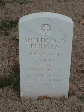 FURMAN (VETERAN WWII), SHELDON W - Pulaski County, Arkansas | SHELDON W FURMAN (VETERAN WWII) - Arkansas Gravestone Photos