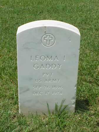 GADDY (VETERAN WWI), LEOMA I - Pulaski County, Arkansas | LEOMA I GADDY (VETERAN WWI) - Arkansas Gravestone Photos