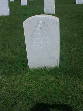 GAILLARD (VETERAN WWI), MACK - Pulaski County, Arkansas   MACK GAILLARD (VETERAN WWI) - Arkansas Gravestone Photos