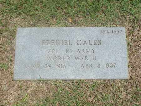GALES (VETERAN WWII), EZEKIEL - Pulaski County, Arkansas   EZEKIEL GALES (VETERAN WWII) - Arkansas Gravestone Photos