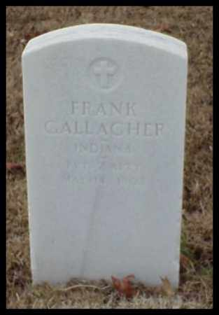 GALLAGHER (VETERAN), FRANK - Pulaski County, Arkansas | FRANK GALLAGHER (VETERAN) - Arkansas Gravestone Photos