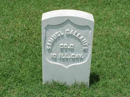 GALLAHER (VETERAN UNION), SAMUEL - Pulaski County, Arkansas | SAMUEL GALLAHER (VETERAN UNION) - Arkansas Gravestone Photos
