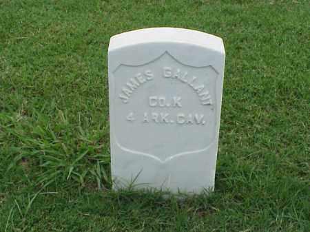 GALLANT (VETERAN UNION), JAMES - Pulaski County, Arkansas | JAMES GALLANT (VETERAN UNION) - Arkansas Gravestone Photos