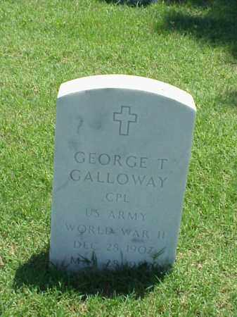 GALLOWAY (VETERAN WWII), GEORGE T - Pulaski County, Arkansas | GEORGE T GALLOWAY (VETERAN WWII) - Arkansas Gravestone Photos