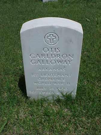 GALLOWAY (VETERAN WWII), OTIS CARLDRON - Pulaski County, Arkansas | OTIS CARLDRON GALLOWAY (VETERAN WWII) - Arkansas Gravestone Photos