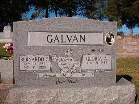 GALVAN, BERNARDO C - Pulaski County, Arkansas | BERNARDO C GALVAN - Arkansas Gravestone Photos