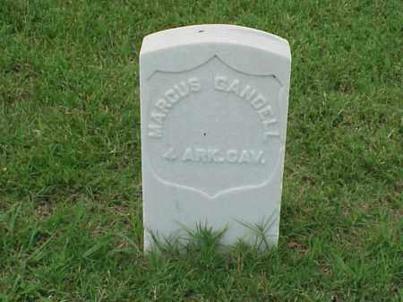 GANDELL (VETERAN UNION), MARCUS - Pulaski County, Arkansas | MARCUS GANDELL (VETERAN UNION) - Arkansas Gravestone Photos