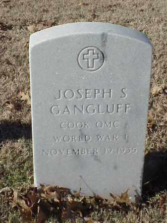 GANGLUFF (VETERAN WWI), JOSEPH S - Pulaski County, Arkansas   JOSEPH S GANGLUFF (VETERAN WWI) - Arkansas Gravestone Photos