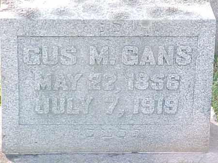 GANS, GUS M - Pulaski County, Arkansas | GUS M GANS - Arkansas Gravestone Photos