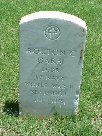 GARBI (VETERAN WWII), ROCTON C - Pulaski County, Arkansas | ROCTON C GARBI (VETERAN WWII) - Arkansas Gravestone Photos