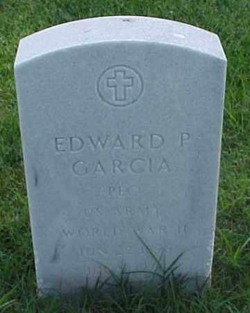 GARCIA (VETERAN WWII), EDWARD P - Pulaski County, Arkansas   EDWARD P GARCIA (VETERAN WWII) - Arkansas Gravestone Photos