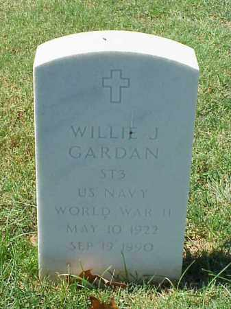 GARDAN (VETERAN WWII), WILLIE J - Pulaski County, Arkansas | WILLIE J GARDAN (VETERAN WWII) - Arkansas Gravestone Photos