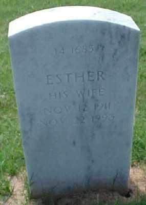 GARDNER, ESTHER - Pulaski County, Arkansas | ESTHER GARDNER - Arkansas Gravestone Photos