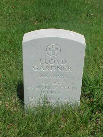 GARDNER (VETERAN KOR), LLOYD - Pulaski County, Arkansas   LLOYD GARDNER (VETERAN KOR) - Arkansas Gravestone Photos