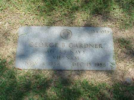 GARDNER (VETERAN VIET), GEORGE B - Pulaski County, Arkansas   GEORGE B GARDNER (VETERAN VIET) - Arkansas Gravestone Photos