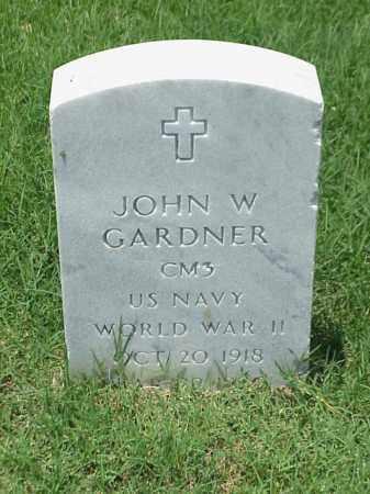 GARDNER (VETERAN WWII), JOHN W - Pulaski County, Arkansas | JOHN W GARDNER (VETERAN WWII) - Arkansas Gravestone Photos