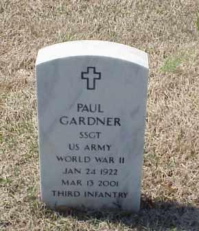 GARDNER (VETERAN WWII), PAUL - Pulaski County, Arkansas   PAUL GARDNER (VETERAN WWII) - Arkansas Gravestone Photos