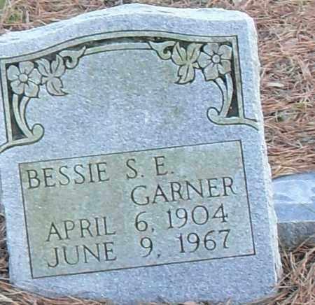 GARNER, BESSIE S E - Pulaski County, Arkansas   BESSIE S E GARNER - Arkansas Gravestone Photos
