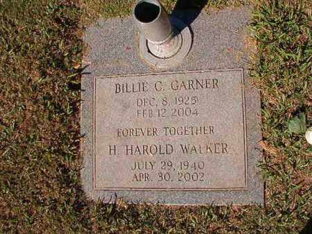 WALKER, H HAROLD - Pulaski County, Arkansas | H HAROLD WALKER - Arkansas Gravestone Photos