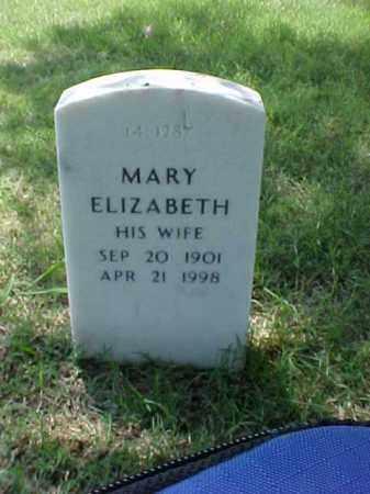 GARNER, MARY ELIZABETH - Pulaski County, Arkansas | MARY ELIZABETH GARNER - Arkansas Gravestone Photos