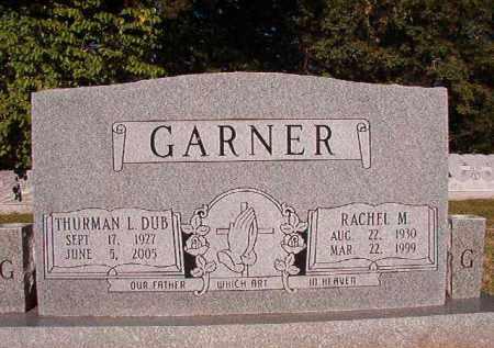 GARNER, RACHEL M - Pulaski County, Arkansas | RACHEL M GARNER - Arkansas Gravestone Photos