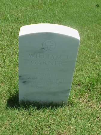 GARNER (VETERAN WWII), WILLIAM J - Pulaski County, Arkansas | WILLIAM J GARNER (VETERAN WWII) - Arkansas Gravestone Photos