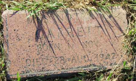 GARRETT, NOTRA - Pulaski County, Arkansas | NOTRA GARRETT - Arkansas Gravestone Photos