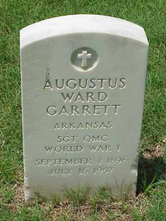 GARRETT (VETERAN WWI), AUGUSTUS WARD - Pulaski County, Arkansas | AUGUSTUS WARD GARRETT (VETERAN WWI) - Arkansas Gravestone Photos