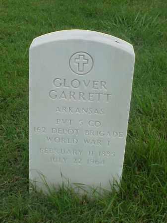 GARRETT (VETERAN WWI), GLOVER - Pulaski County, Arkansas | GLOVER GARRETT (VETERAN WWI) - Arkansas Gravestone Photos