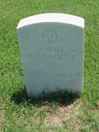 GARRISON (VETERAN 3 WARS), RUFUS - Pulaski County, Arkansas   RUFUS GARRISON (VETERAN 3 WARS) - Arkansas Gravestone Photos