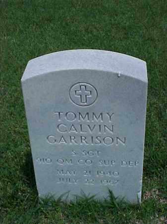 GARRISON (VETERAN), TOMMY CALVIN - Pulaski County, Arkansas   TOMMY CALVIN GARRISON (VETERAN) - Arkansas Gravestone Photos